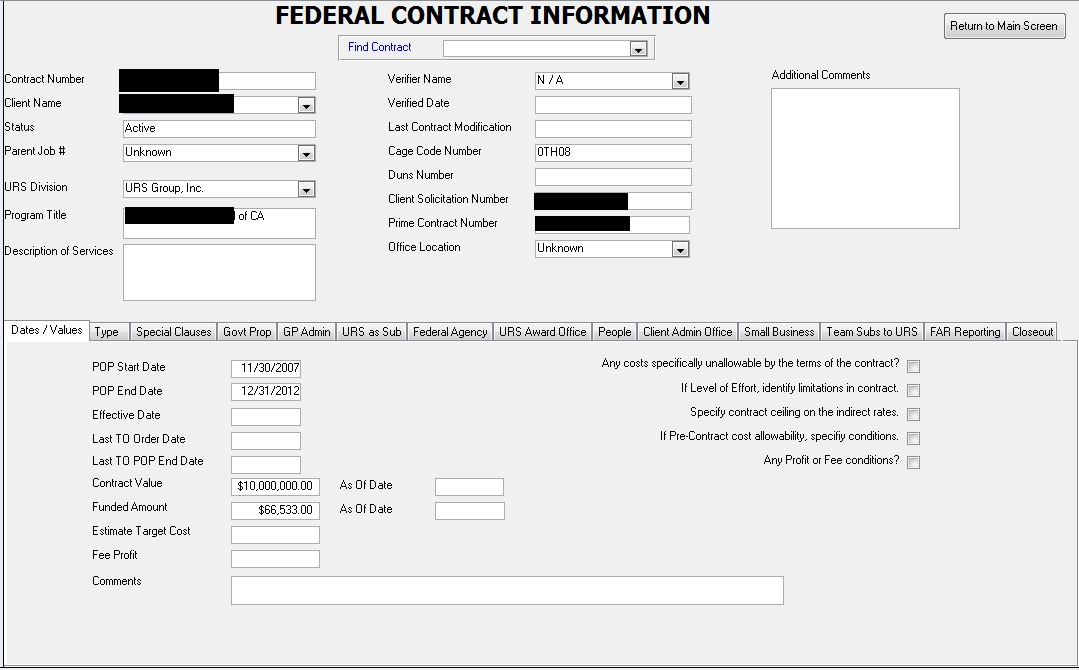 FederalContract